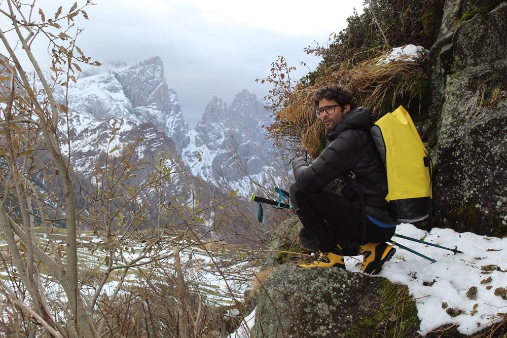 scarpone alpinismo semi ramponabile impermeabile
