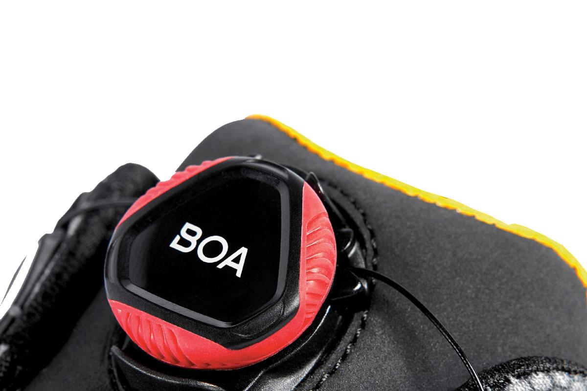 boa system tecnologia scarpe antinfortunistica