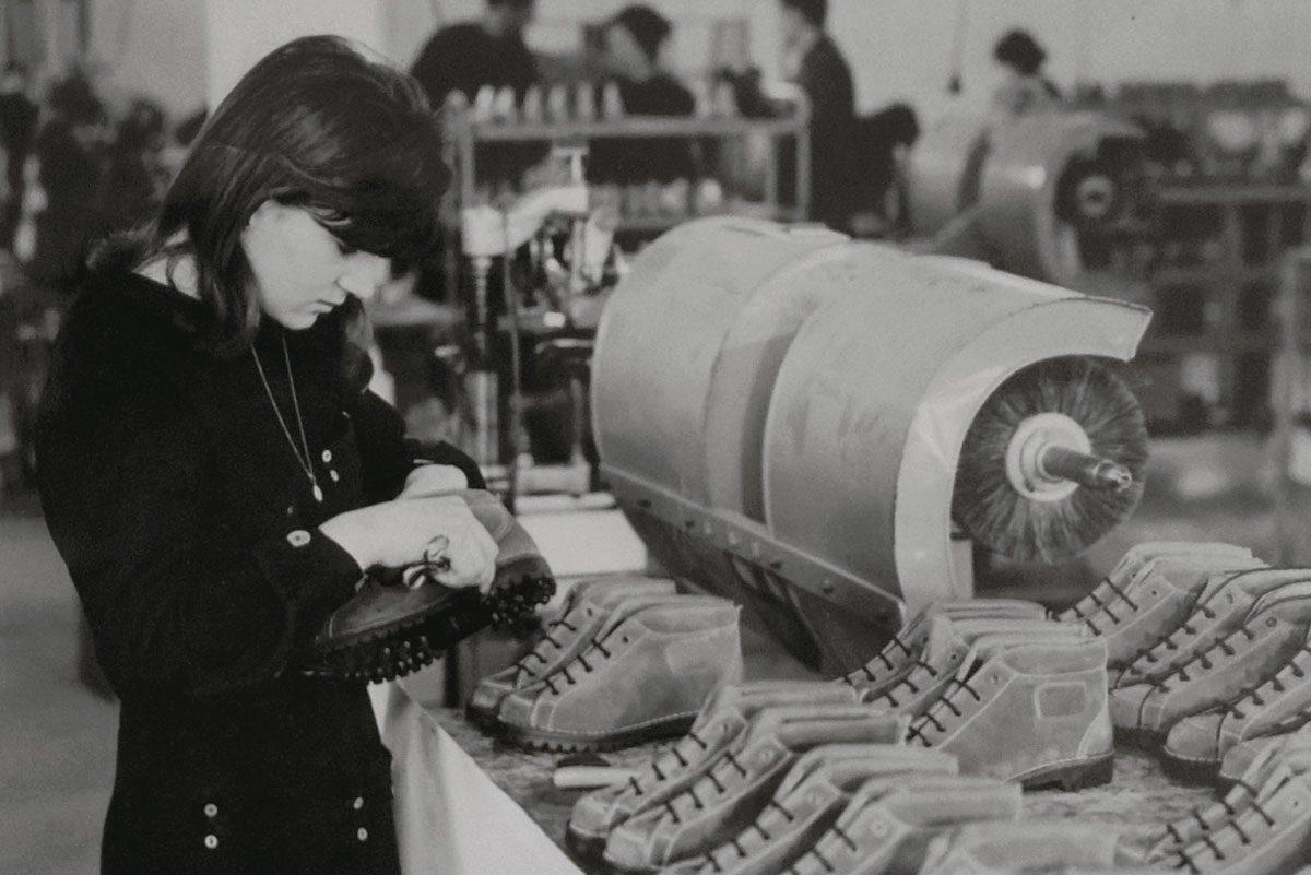 produzione scarpe da montagna