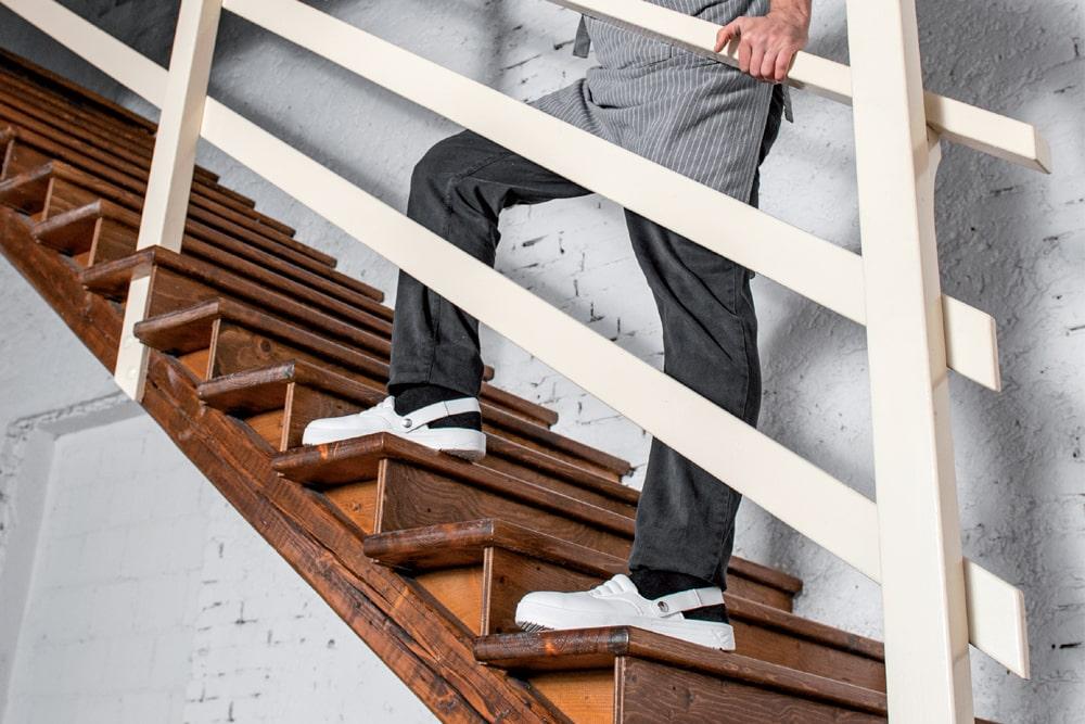scarpa sabot bianca per cucine ristoranti e ospedali