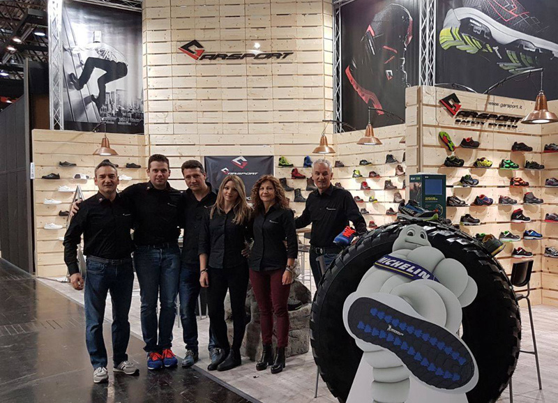 garsport progettazione produzione scarpe trekking antinfortunistiche
