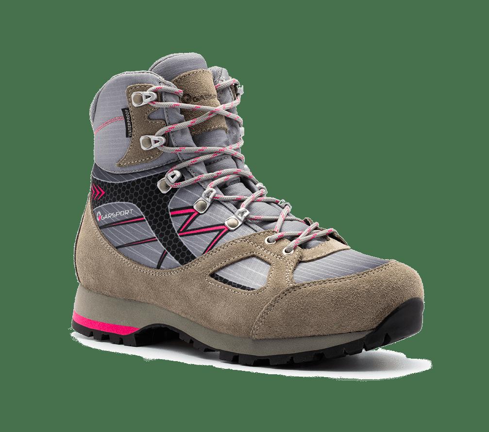 scarpone trekking zillertal watwerproof woman grigio